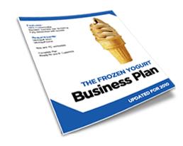 frozen yogurt shop business plan
